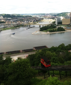 Duquesne Incline in Pittsburgh, Pennsylvania