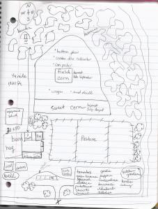 Wilson Farm map